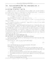 Bài giảng Kết Cấu Bê Tông theo 22TCN 272-05 CHƯƠNG 3: NGUYÊN LÝ THIẾT KẾ THEO TIÊU CHUẨN 22TCN-272-05 pdf