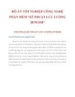 """ĐỒ ÁN TỐT NGHIỆP CÔNG NGHỆ PHẦN MỀM """"KĨ THUẬT LƯU LƯỢNG IP/WDM"""" CHƯƠNG 2_2 ppt"""