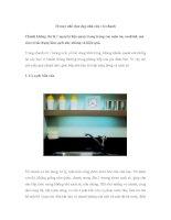 10 mẹo nhỏ dọn dẹp nhà cửa với chanh ppsx