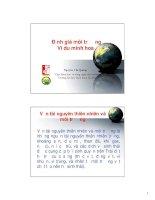 Kinh tế môi trường - Lecture 6 ppt