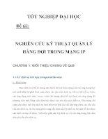 NGHIÊN CỨU KỸ THUẬT QUẢN LÝ HÀNG ĐỢI TRONG MẠNG IP CHƯƠNG 1_2 pot
