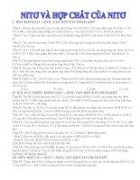 Các bài toán về hợp chất HNO3 pptx