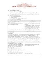 Giáo án lớp 5 môn Lịch Sử: NGUYỄN TRƯỜNG TỘ MONG MUỐN CANH TÂN ĐẤT NƯỚC pdf