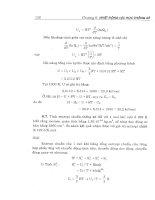 Bài tập hóa lý cơ sở part 4 docx