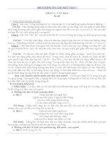 Đề cương ôn tập ngữ văn 7