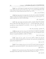Bài tập hóa lý cơ sở part 3 pptx