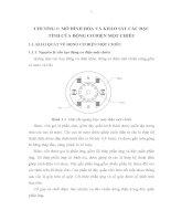 CHƯƠNG I : MÔ HÌNH HÓA VÀ KHẢO SÁT CÁC ĐẶC TÍNH CỦA ĐỘNG CƠ ĐIỆN MỘT CHIỀU pptx