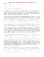 Tuyển tập các bài văn nghị luận khối THCS: Văn biểu cảm