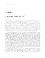 Cơ sở kỹ thuật siêu cao tần - Chương 4 pot