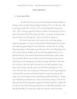 Đề tài thảo luận môn Kinh Doanh Quốc Tế ppt