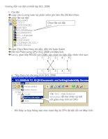 Hướng dẫn sử dụng bảng led điện tử SCL2008 pptx