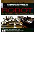 ROBOT VÀ HỆ THỐNG CÔNG NGHỆ ROBOT HÓA - CHƯƠNG MỞ ĐẦU ppsx