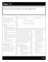 acca test book Corporate and Business Law Financial Information for Management pptx