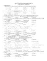 TEST 2- (SECOND SEMESTER-GRADE 12) ppsx