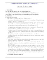 Chuyên đề bồi dưỡng HSG lớp 9  Phần hình học