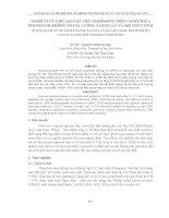 NGHIÊN CỨU CHẾ TẠO VẬT LIỆU COMPOSITE TRÊN CƠ SỞ NHỰA POLYESTER KHÔNG NO GIA CƯỜNG NANOCLAY VÀ SỢI THỦY TINH pot