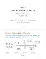 Bài giảng biến đổi năng lượng điện cơ chương 1 ppt