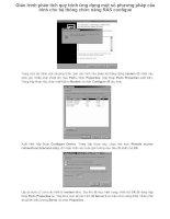 Giáo trình phân tích quy trình ứng dụng một số phương pháp cấu hình cho hệ thống chức năng RAS configue p1 doc