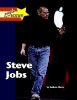 Steve Jobs.Other books in the People in the News series phần 1 pdf