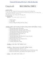 Chuyên đề bồi dưỡng HSG lớp 9  Phần bất đẳng thức