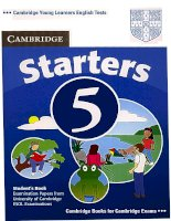 starters 5 student''''''''s book