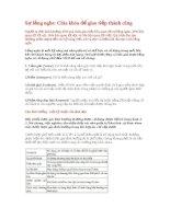 Sự lắng nghe: Chìa khóa để giao tiếp thành công pdf