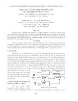 THIẾT KẾ VÀ THỰC HIỆN SRAM IP CORE TRÊN HỆ THỐNG NHÚNG FPGA ppt