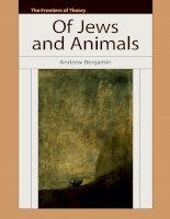 The Frontiers of Theory Of Jews and Animals Phần 1 pdf