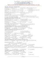 ĐỀ THI TỐT NGHIỆP TNPT VÀ ĐẠI HỌC CAO ĐẲNG CÁC NĂM Năm 2011 ppsx