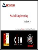 CEHv8 module 09   social engineering