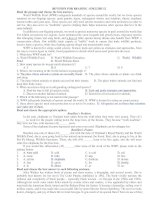 REVISION FOR READING –ENGLISH 12 doc