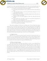 Giáo trình tổng hợp những điều cơ bản trong hệ thống vay vốn từ ngân hàng phần 2 doc