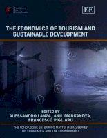 The Economics of Tourism and Sustainable Development phần 1 potx