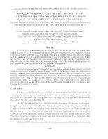 BƯỚC ĐẦU NGHIÊN CỨU SỰ PHÂN BỐ, TẬP TÍNH TƢ THẾ VẬN ĐỘNG CỦA HỌ KHỈ VOỌC (CERCOPITHECIDAE) TẠI KHU BẢO TỒN THIÊN NHIÊN SƠN TRÀ THÀNH PHỐ ĐÀ NẴNG ppsx