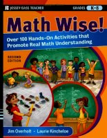 Jossey-Bass Teacher - Math Wise Phần 1 ppsx