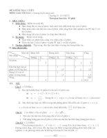 ĐỀ KIỂM TRA 1 TIẾTMÔN: GIẢI TÍCH 12 ( Chương trình nâng cao) ppt