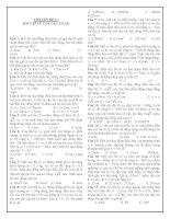 CHUYÊN ĐỀ 2 : BÀI TẬP VỀ CON LẮC LÒ XO docx
