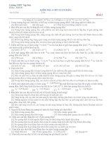 KIỂM TRA 1 TIẾT 12 (CƠ BẢN) ppsx