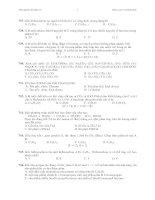 Trắc nghiệm hoá hữu cơ 1 ppt