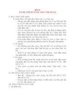 Giáo án Lịch Sử 8: BÀI 9: ẤN ĐỘ THẾ KỈ XVIII- ĐẦU THE KỈ XX I. MỤC TIÊU BÀI HỌC: 1. Kiến thức: potx