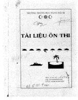 Tài liệu ôn thi Hàng hải II part 1 pps