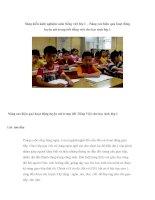 Sáng kiến kinh nghiệm môn tiếng việt lớp 1 – Nâng cao hiệu quả hoạt động luyện nói trong tiết tiếng việt cho học sinh lớp 1 potx