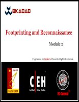 CEHv8 module 02   footprinting and reconnaissance