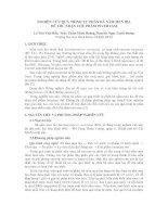 NGHIÊN CỨU QUÁ TRÌNH TỰ PHÂN BÃ NẤM MEN BNGHIÊN CỨU QUÁ TRÌNH TỰ PHÂN BÃ NẤM MEN BIA ĐỂ THU NHẬN CHẾ PHẨM INVERTASEIA ĐỂ THU NHẬN CHẾ PHẨM INVERTASELê pdf