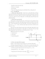 Bài giảng : XỬ LÝ NƯỚC CẤP - CÁC SƠ ĐỒ CÔNG NGHỆ XỬ LÝ NƯỚC, CÁC PHƯƠNG PHÁP XỬ LÝ NƯỚC part 2 docx
