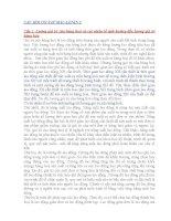 Câu hỏi ôn tập Mác - Lê nin pdf