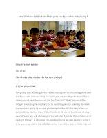 Sáng kiến kinh nghiệm Một số biện pháp rèn đọc cho học sinh yếu lớp 1 pps