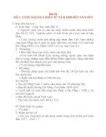 Giáo án Lịch Sử 8: Bài 24 CUỘC KHÁNG CHIẾN TỪ NĂM 1858 ĐẾN NĂM 1873 potx