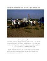 Sáng kiến kinh nghiệm môn kể truyện theo tranh – Phương pháp dựng lều đi pptx