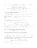 Báo cáo toán học: